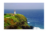 Kilauea Lighthouse, Kauai, Hawaii Photographic Print by George Oze