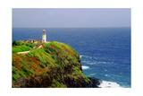 Kilauea Lighthouse, Kauai, Hawaii Impressão fotográfica por George Oze