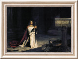 The Vigil, 1884 Framed Canvas Print by John Pettie