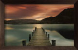 Lac d&#39;Ullswater Framed Canvas Transfer par Mel Allen