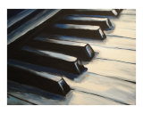 Piano Keys (3/4) Giclee Print by Todd Horne