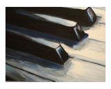 Piano Keys (2/4) Giclee Print by Todd Horne