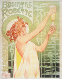 Absinthe Robette Tin Sign