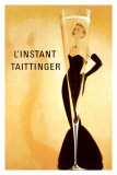 L&#39;Instant Taittinger Print