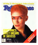Annie Lennox, Rolling Stone no. 405, September 1983 Photographic Print by E.j. Camp