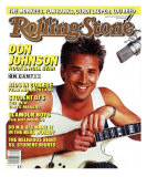 Don Johnson, Rolling Stone no. 483, September 1986 Photographic Print by E.j. Camp