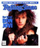 Jon Bon Jovi, Rolling Stone no. 500, May 1987 Photographic Print by E.j. Camp