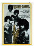 Sly and the Family Stone, Rolling Stone no. 54, March 1970 Photographic Print by Stephen Paley