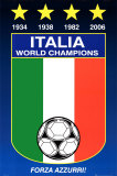 Italy World Cup Prints
