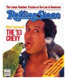 Chevy Chase, Rolling Stone no. 406, October 1983 Photographic Print by Bonnie Schiffman