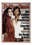 Rita Coolidge and Kris Kristopherson, Rolling Stone no. 259, February 1978 Photographic Print by Francesco Scavullo