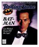 Michael Keaton, Rolling Stone no. 555, June 1989 Photographic Print by Bonnie Schiffman