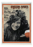 Janis Joplin, Rolling Stone no. 64, August 1970 Photographic Print by Tony Lane