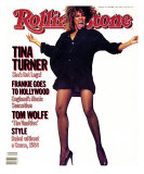 Tina Turner, Rolling Stone no. 432, October 1984 Photographic Print by Steve Meisel