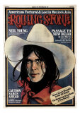 Neil Young , Rolling Stone no. 193, August 1975 Photographic Print by Kim Whitesides