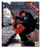 Paul McCartney, Rolling Stone no. 571, February 1990 Photographic Print by Timothy White