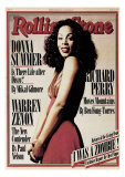 Donna Summer, Rolling Stone no. 261, March 1978 Photographic Print by Brian Leatart