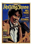 Neil Young , Rolling Stone no. 284, February 1979 Photographic Print by Julian Allen