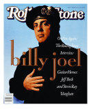 Billy Joel, Rolling Stone no. 570, January 1990 Photographic Print by Timothy White
