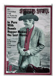 Dennis Hopper, Rolling Stone no. 56, April 1970 Photographic Print by Michael Anderson Jr.
