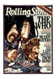 The Who, Rolling Stone no. 275, October 1978 Photographic Print by Robert Grossman
