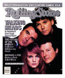 Talking Heads, Rolling Stone no. 491, January 1987 Impressão fotográfica por Richard Corman
