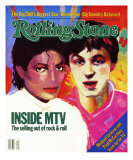 Michael Jackson and Paul McCartney, Rolling Stone no. 410, December 1983 Photographic Print by Vivienne Fleisher