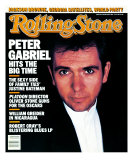 Peter Gabriel, Rolling Stone no. 492, January 1987 Photographic Print by Robert Mapplethorpe