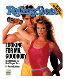 Christie Brinkley and Michael Ives, Rolling Stone no. 397, June 1983 Photographic Print by E.j. Camp
