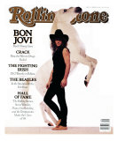 Jon Bon Jovi, Rolling Stone no. 545, February 1989 Photographic Print by Timothy White