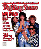 Van Halen, Rolling Stone no. 477, July 1986 Photographic Print by Deborah Feingold