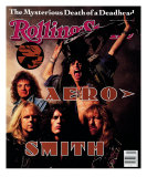 Aerosmith, Rolling Stone no. 575, April 1990 Photographic Print by Mark Seliger