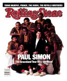 Paul Simon and Ladysmith Black Mambazo, Rolling Stone no. 503, July 1987 Photographic Print by Mark Seliger