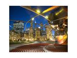 Millennium Park  outdoor theater Fotografisk tryk af Patrick  J. Warneka