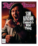 Sam Kinison, Rolling Stone no. 546, February 1989 Photographic Print by Mark Seliger