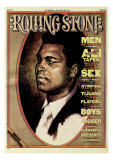 Muhammad Ali, Rolling Stone no. 197, October 1975 Photographic Print by Bruce Wolfe