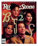 B-52's, Rolling Stone no. 574, March 1990 Photographic Print by Mark Seliger