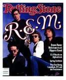 REM, Rolling Stone no. 550, April 1989 Photographic Print by Timothy White