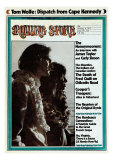 James Taylor and Carly Simon, Rolling Stone no. 125, January 1973 Photographic Print by Peter Simon
