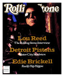 Lou Reed, Rolling Stone no. 551, May 1989 Photographic Print by Mark Seliger