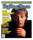 Paul McCartney, Rolling Stone no. 482, September 1986 Photographic Print by Harry Dezitter