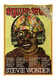 Stevie Wonder, Rolling Stone no. 189, June 1975 Photographic Print by Milton Glaser