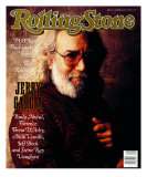 Jerry Garcia, Rolling Stone no. 566, November 1989 Photographic Print by William Coupon