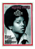 Michael Jackson, Rolling Stone no. 81, April 1971 Photographic Print by Henry Diltz