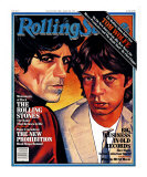 Mick Jagger and Keith Richards, Rolling Stone no. 324, August 1980 Photographic Print by Julian Allen