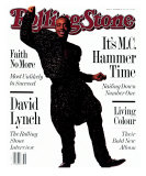 MC Hammer, Rolling Stone no. 586, September 1990 Photographic Print by Frank Ockenfels