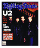 U2, Rolling Stone no. 443, March 1985 Photographic Print by Rebecca Blake