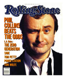 Phil Collins , Rolling Stone no. 448, May 1985 Photographic Print by Aaron Rapoport