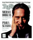 Michael Douglas, Rolling Stone no. 517, January 1988 Photographic Print by Albert Watson