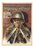 P.O.W. Rick Springman, Rolling Stone no. 157, March 1974 Photographic Print by Peter Palombi
